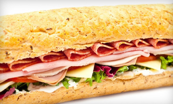 Hog Island Subs - Millbrook: $7 for $14 Worth of Sandwiches and Drinks at Hog Island Subs