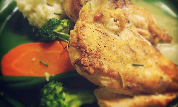 Twisted Elm - Eastside: $25.99 for an Gastropub Dinner for Two at Twisted Elm (Up to $52 Value)