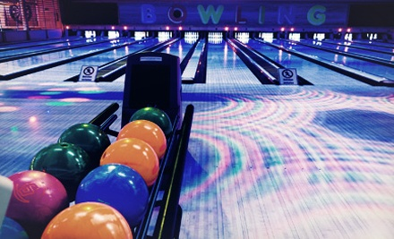 Lane Rental for Two or Four with Shoes and Game Tokens at Splitz (Up to 52% Off)