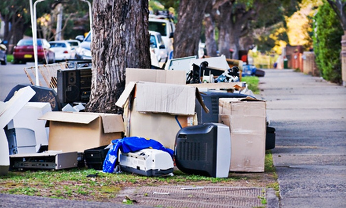 Rhino's Hauling - San Francisco: Removal of 1.25 or 2.5 Cubic Yards of Junk from Rhino's Hauling (Up to 67% Off)
