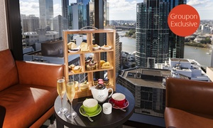Four Points By Sheraton Brisbane Dining: $49 for High Tea in the Sky with Sparkling Wine for Two People at Four Points by Sheraton Brisbane Dining ($98 Value)