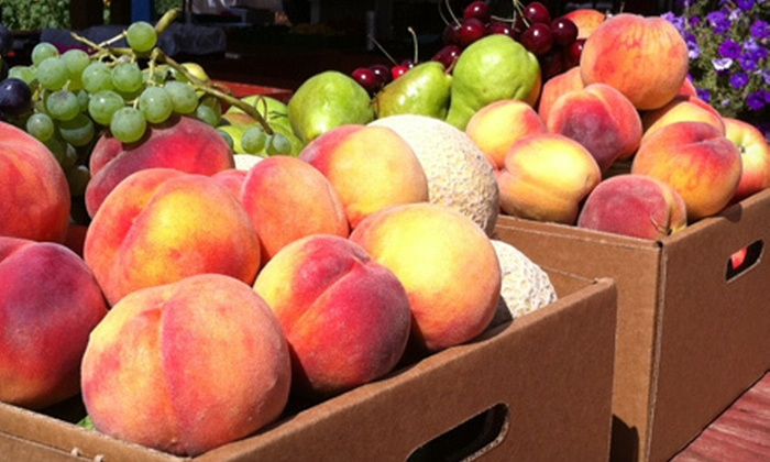 Paynter's Fruit Market - Westbank: $7 for Two Hard Ice-Cream Cones and $10 Worth of Produce at Paynter's Fruit Market ($16.50 Value)