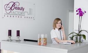 Beauty Factory Fabryka Urody: Redukcja zmarszczek (od 199 zł) lub leczenie nadpotliwości pach (899 zł) toksyną botulinową w Beauty Factory Poznań