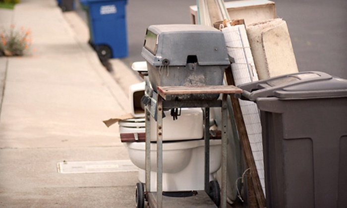 Junk Genius - Charlotte: Removal for Up to 4 or 6 Cubic Yards' Worth of Material from Junk Genius (Up to 61% Off)