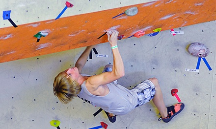 Full-Day Indoor-Climbing Passes with Rental Gear for Two or Four at Stone Summit (50% Off)
