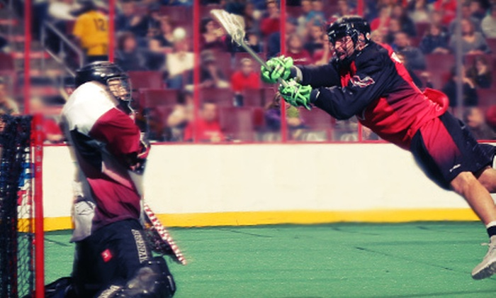 Philadelphia Wings - Wells Fargo Center: $15 for a Philadelphia Wings Lacrosse Match at Wells Fargo Center on April 7 or 13 ($35.65 Value)