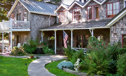 groupon daily deal - 2-Night Stay for Two at Fensalden Inn in Mendocino Coast, CA