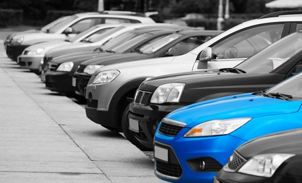 Three or Seven Days of Parking and Airport Shuttle Service at Hampton Inn (Up to 52% Off)