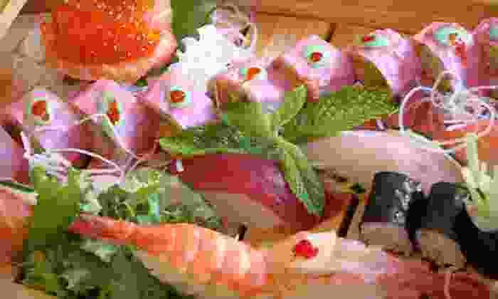 Sakura Teppanyaki and Sushi - Lakeview: Japanese Food and Sushi, Valid Sunday–Thursday or Friday–Saturday at Sakura Teppanyaki and Sushi (Up to 55% Off)