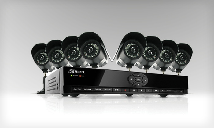 Defender Home-Security Systems: Defender Home-Security Systems with Cameras and DVR (Up to 63% Off). Three Options Available. Free Shipping and Returns.