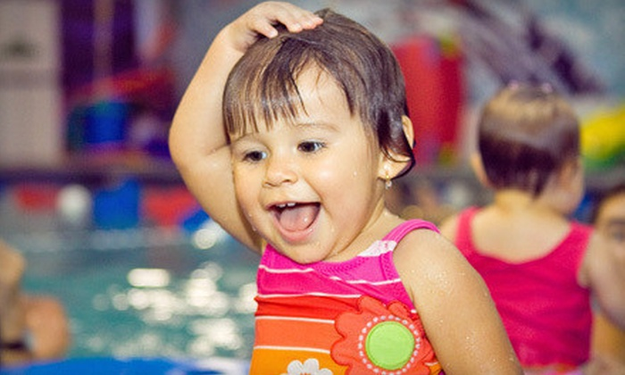 United States Swim Academy - Coral Springs Mall: Four Mommy and Me or Adult Swim Lessons at United States Swim Academy (Up to 70% Off)