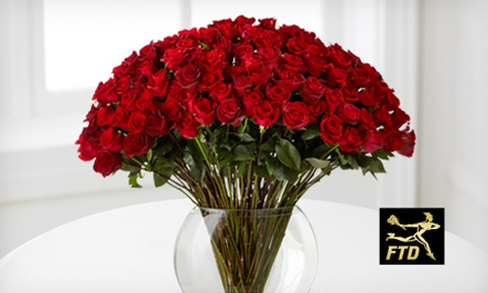 FTD: US$20 for US$40 Worth of Valentine's Day Flowers and Gifts from FTD