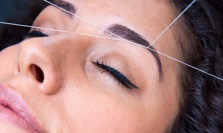 Three Brow Threadings or Three Full-Face Threadings at Arch Brows Salon and Spa (Up to 50% Off)