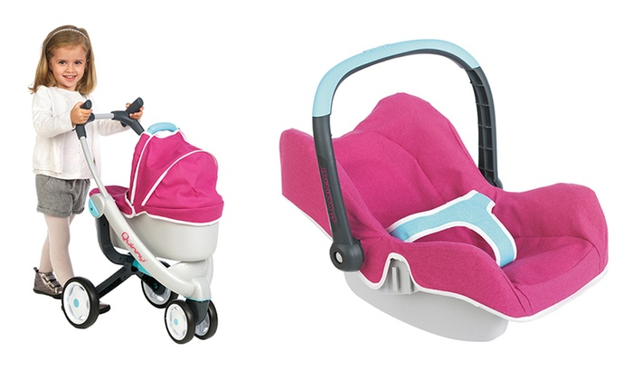 Quinny Dolls Pram With Car Seat