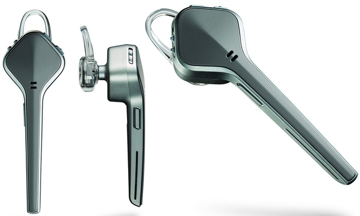 Plantronics Voyager Edge 201104-41 Wireless Bluetooth Headset with Mic
