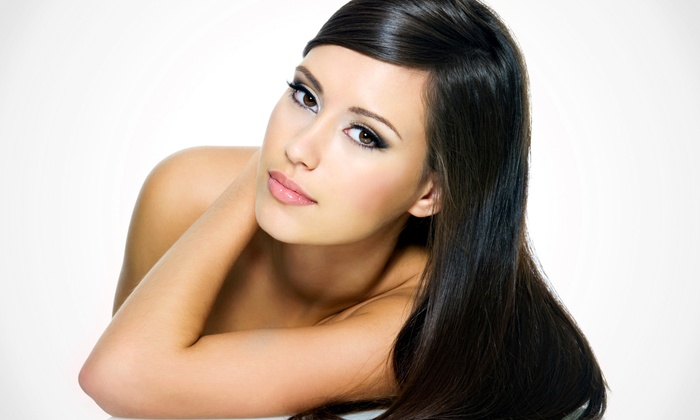 Libby at New Haven Hair and Skin Studio - Libby at New Haven Hair and Skin Studio: Haircut and Conditioning with Optional Brazilian Blowout from Libby at New Haven Hair and Skin Studio (Up to 65% Off)