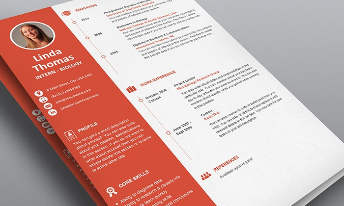 resume template pack groupon