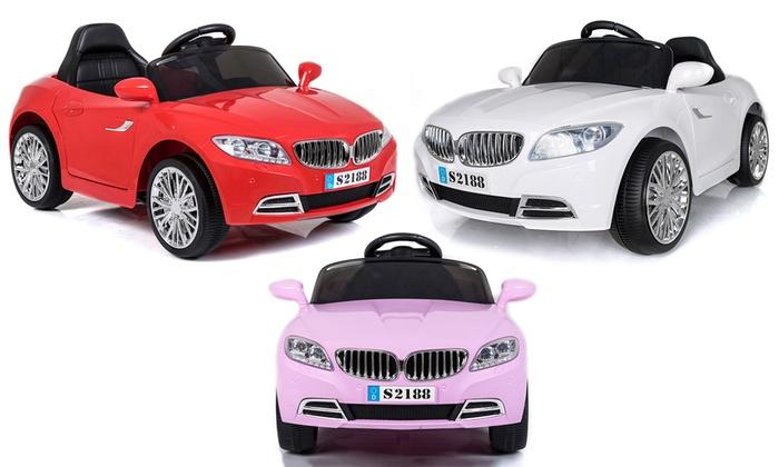 tot 56 op elektrische auto voor kinderen groupon producten. Black Bedroom Furniture Sets. Home Design Ideas