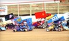 Millbridge Speedway - Beech Wood Estates: Mini Outlaw Series Sprint-Kart Race Admission for Two, Four, or Six at Millbridge Speedway in Salisbury (Up to 58% Off)