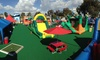 Inflatable World - Eastern San Diego: All-Day Unlimited Play for One, Two, or Four Children at Inflatable World (Up to 50% Off)