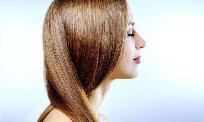 Shine At The Salon - Creston - Kenilworth: Haircut, Conditioning Treatment, and Thermal-Style Blowout at Shine At The Salon (Up to 54% Off)