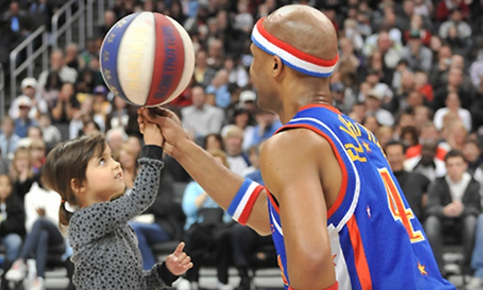 Harlem Globetrotters - Patriot Center: Harlem Globetrotters Game on March 2 or 3 at Patriot Center (Up to 49% Off). Four Options Available.