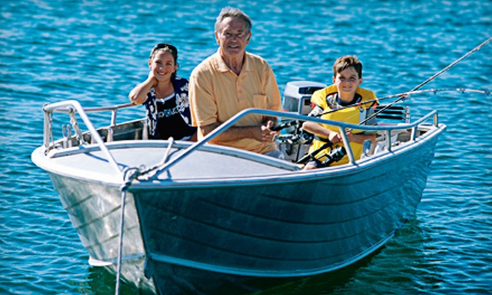 Bayside Boat and Tackle - Penfield: $99 for a Let's Catch Fish Membership and a Full-Day Boat Rental from Bayside Boat and Tackle ($218 Value)