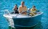 Half Off Boat Rental and Fishing Benefits