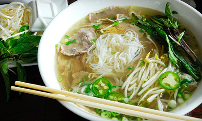 Asian Pho - Echo Lake: $10 for $20 Worth of Vietnamese Fare at Asian Pho in Edmonds