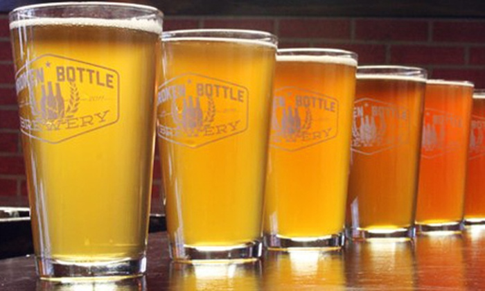 Broken Bottle Brewery - Albuquerque Westside: Craft-Beer Flights and Pints for Two or Four at Broken Bottle Brewery