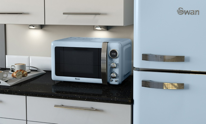 Swan Products Uk Retro Digital Microwave For 64 99 With Free Delivery 54