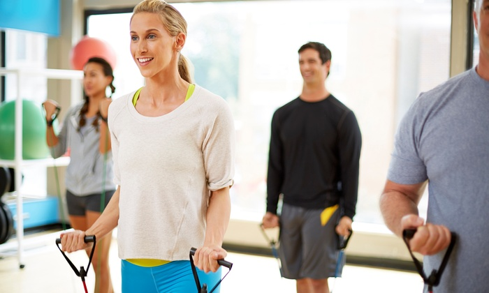 Maine Pines Racquet & Fitness - Pond Road: Two-Month Fitness Membership for One or Two to Maine Pines Racquet & Fitness (Up to 51% Off)