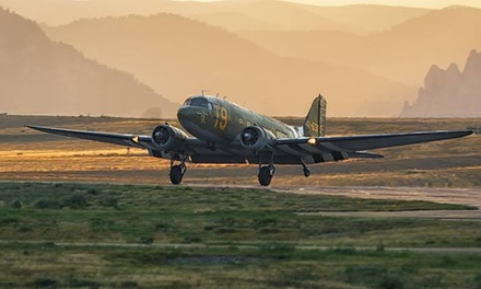 30-Minute Scenic Daylight Fall Flight in Douglas C-47 for One or Two from Greatest Generation (Up to 60% Off)
