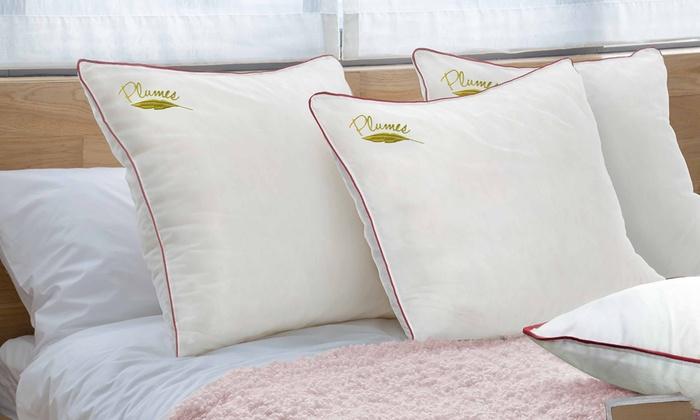 oreiller plumes sampur groupon shopping. Black Bedroom Furniture Sets. Home Design Ideas
