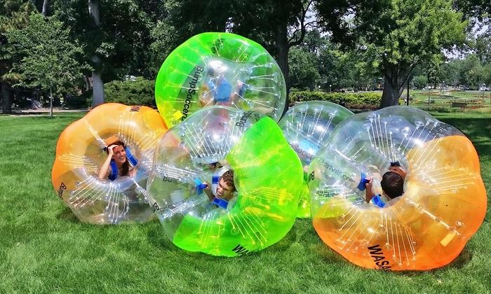 Bump Soccer Denver LLC - Denver: One-Hour Bubble-Soccer Rental for Up to 10 or 20 from Bump Soccer Denver LLC (50% Off)
