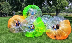Bump Soccer Denver LLC: One-Hour Bubble-Soccer Rental for Up to 10 or 20 from Bump Soccer Denver LLC (50% Off)