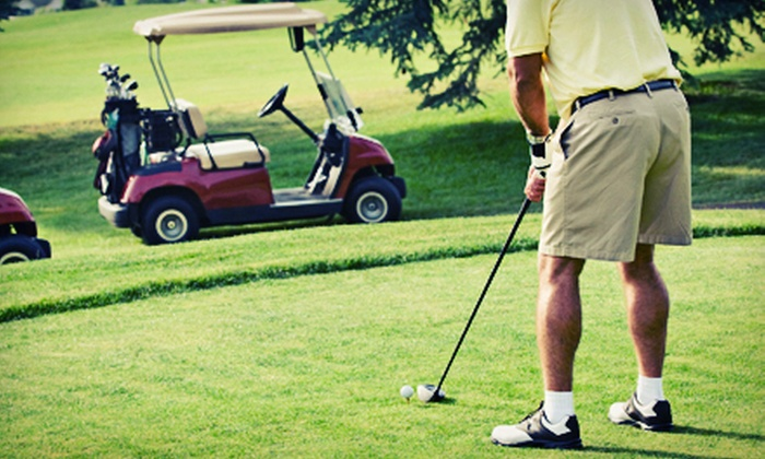 The Fairways Golf Course - Cheney: $45 for 18 Holes for Two with Cart Rental and One Bucket of Range Balls at The Fairways Golf Course (Up to $91 Value)