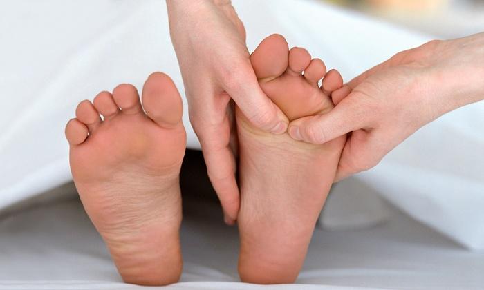 Tipp Top Therapeutic Massage - Monroe: 25-Minute Foot Massage, 50-Minute Swedish Massage, or Both at Tipp Top Therapeutic Massage (Up to 54% Off)