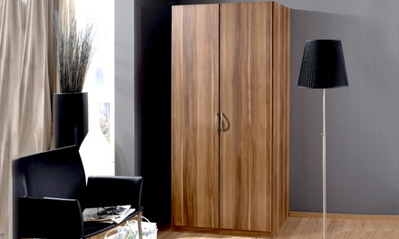 kleiderschrank luisa groupon goods. Black Bedroom Furniture Sets. Home Design Ideas