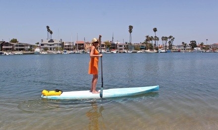 60- or 90-Minute Standup-Paddleboard Rental for Two or Four at Aloha SUP Rentals (Up to 50% Off)