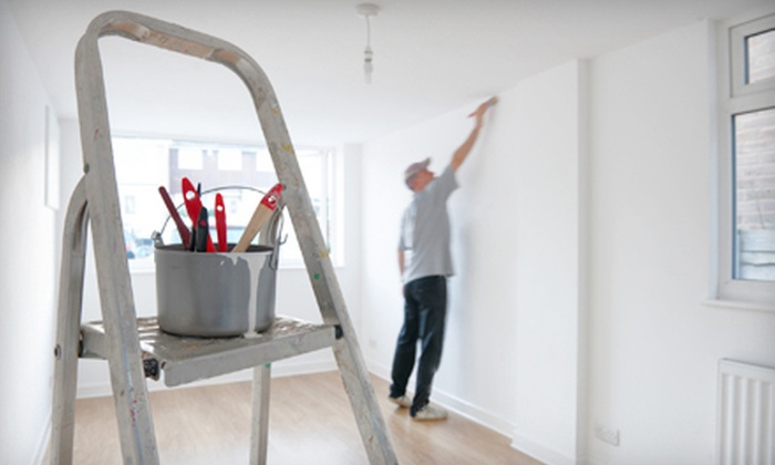All Around Pro Painting - Tulsa: Two Coats of Paint for One or Three Rooms from All Around Pro Painting (67% Off)