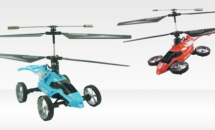 Maze Exclusive Fly 'n' Drive Dual RC Car-Helicopter