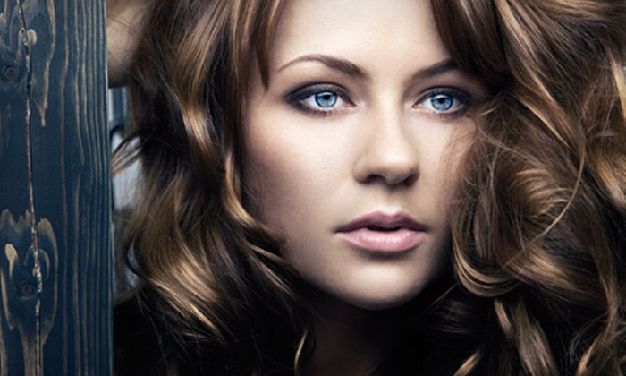 Tricho Salon and Spa - Multiple Locations: $59 for a Cut, Style, Partial Highlights, and Conditioning at Tricho Salon and Spa (Up to $150 Value)