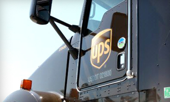 The UPS Store - Phoenix Hill: Packaging, Notary, Freight, Mailbox, Printing and Shipping at The UPS Store (Up to 55% Off). Two Options Available.