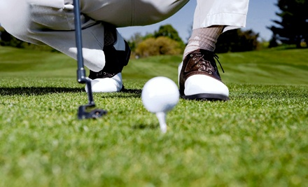 One Round with Pull-Cart Rental for Two or Four or Three Rounds for One at Perche Creek Golf Club (Up to 55% Off)