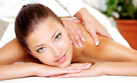 60- or 90-Minute Therapeutic Massage or Ashiatsu Massage at Quiescence Experience (56%% Off)