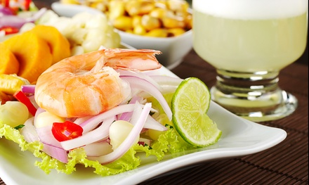 Authentic Peruvian Cuisine for Two or Four at Sabor Peru (Up to 43% Off). Four Options Available.