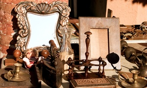 Grayslake Antique Market: Weekend Visit for Two or Four to Grayslake Antique Market (50% Off)