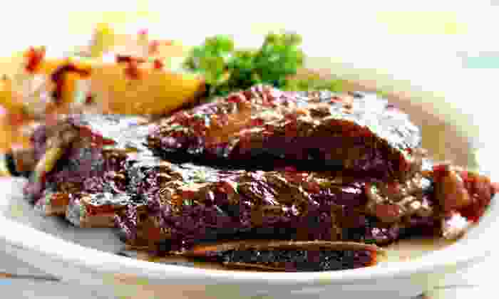 SQUE BBQ - Grant Hill: Southern BBQ Fare for Two or Carryout at SQUE BBQ (Up to 40% Off)