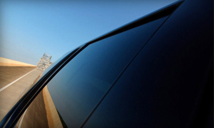Royal Tinting - Multiple Locations: Front Two Windows or Full Car Tinting with Standard Smoke or Darkmatter Ceramic Film at Royal Tinting (Up to 56% Off)
